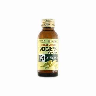 【第2類医薬品】送料無料 グロンビターデラックスK 100ml×50本