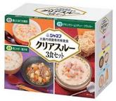 ジャネフ クリアスルー 3食セット オーバーのアイテム取扱☆ 大腸内視鏡専用検査食 公式ショップ キューピー 1箱