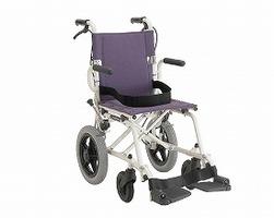 カワムラサイクル 超軽量折りたたみ簡易車椅子/旅ぐるま KA6(ノーパンクタイヤ車椅子) 【代引き不可】