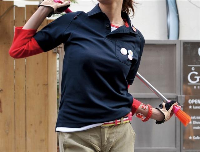 はたらくカラダにスマートフィット アスリートも満足する動きやすさを追求した半袖ポロシャツ 介護 イベント ユニフォーム BURTLE ポリエステル100% セール品 人気 おすすめ 105 WORKBOX クロカメ被服 ポロシャツ
