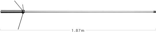 ダイアモンド350MVH 351MHzデジタル簡易無線用アンテナ基地局用