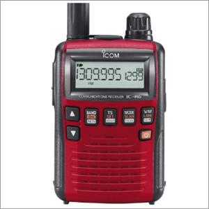 アイコム IC-R6 広帯域受信機 メタリックレッド