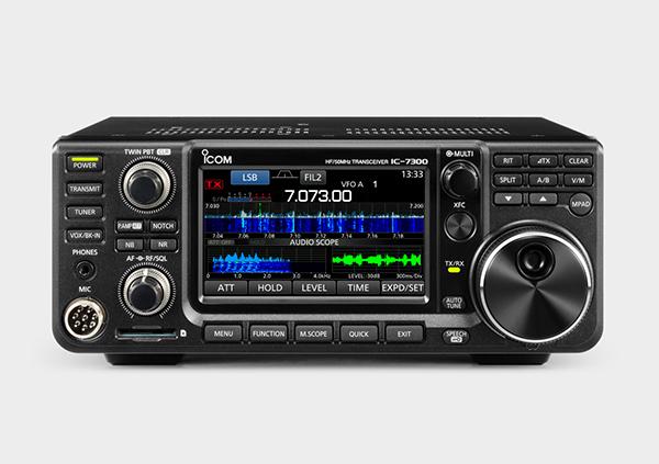 激安特価品 アイコム IC-7300M HF 50MHzオールモードアマチュア無線機 DM330MVセット 50W 無料