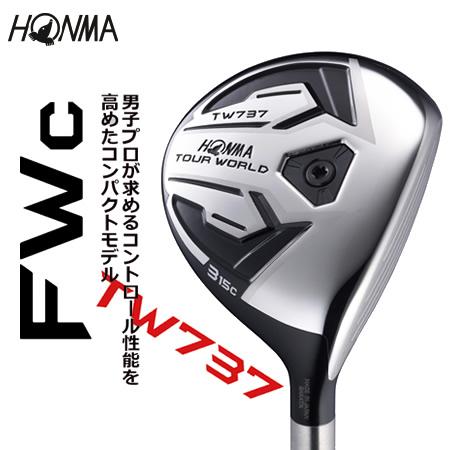 ●ホンマゴルフTOUR WORLD/ツアーワールドTW737 FWc フェアウェイウッド