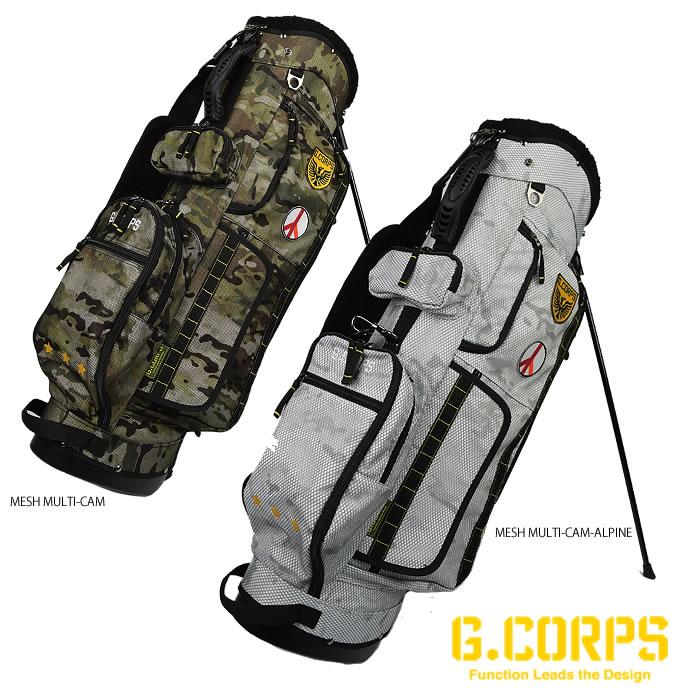 ●ジーコープス ゴルフ キャディバッグ(スタンド)迷彩・カモフラージュ ランチャースタンドバッグ GC0005