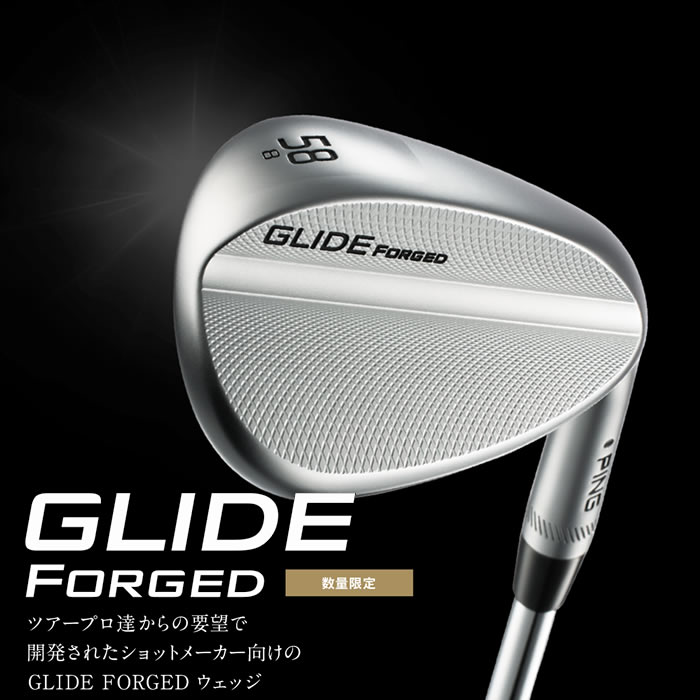 ●PING/ピン GLIDE FORGED WEDGE[数量限定]/グライド フォージド ウェッジ[日本仕様モデル]