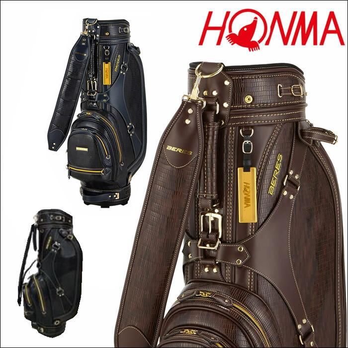 ●ホンマ キャディバッグ HONMABERES クラシカルキャディバッグ CB-1814