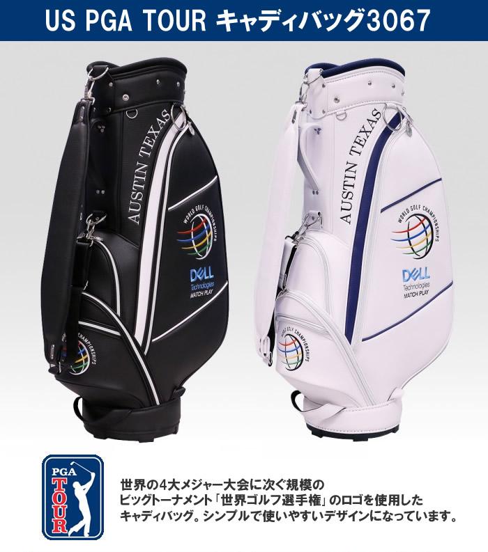 ●US PGA TOUR キャディバッグ CB-3067