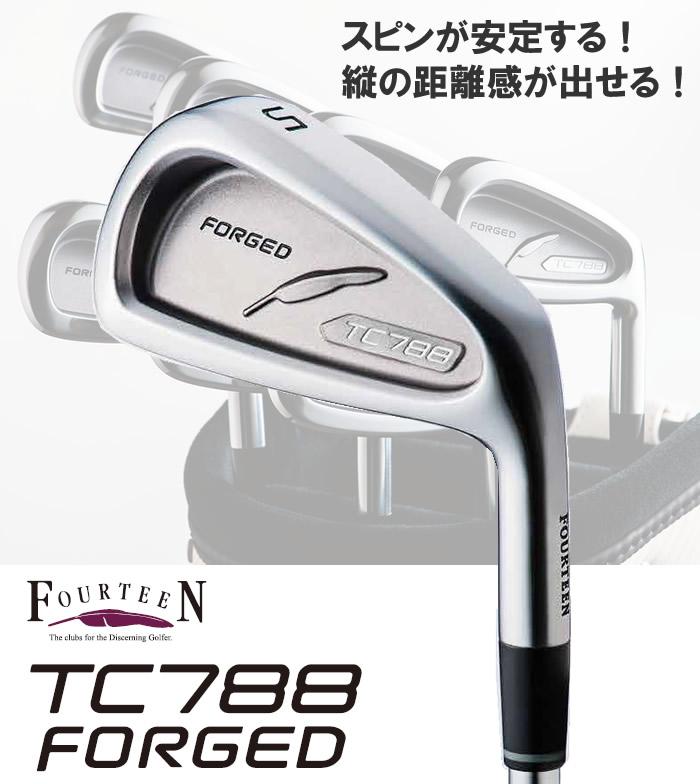 ●フォーティーン TC788 FORGED アイアンN.S.PRO MODUS3 TOUR 105 単品