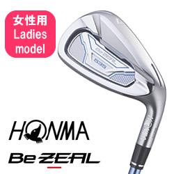 ●ホンマゴルフBe ZEAL 535 Ladies/ビジール 535 レディース アイアンVIZARD for Be ZEAL Ladies シャフト 5本セット(#7~10・SW)