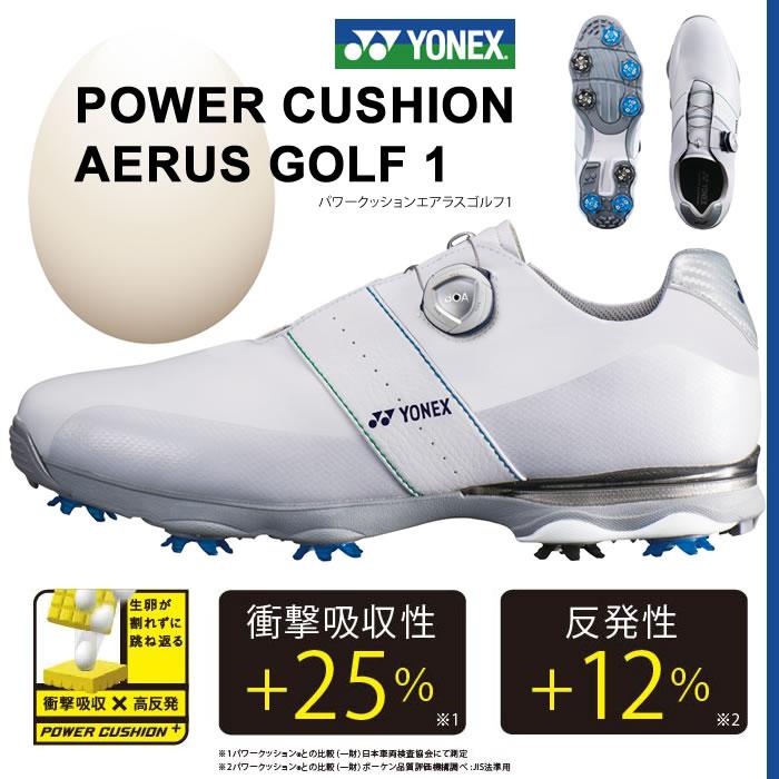 ●ヨネックス ゴルフシューズ【メンズ】パワークッションエアラスゴルフ1 SHG-AR1