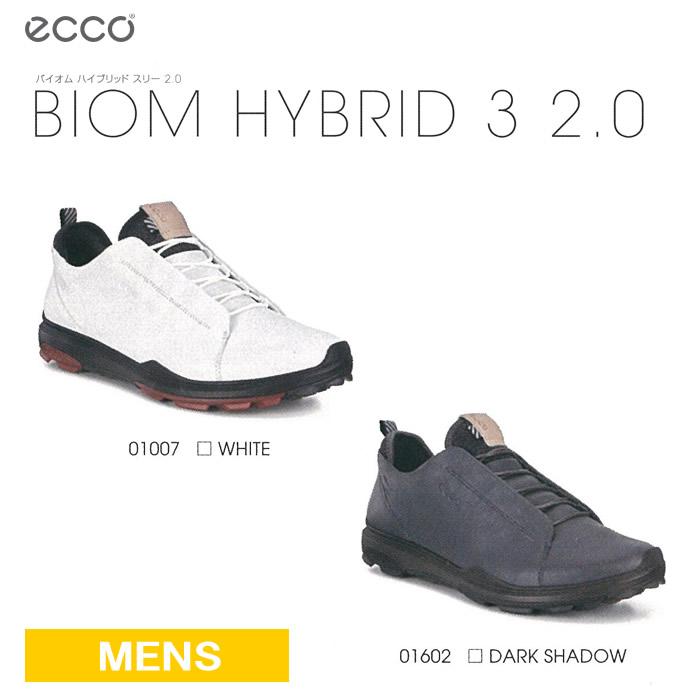 ●ECCO/エコー ゴルフシューズ【メンズ】BIOM HYBRID 3 2.0/バイオム ハイブリッド スリー 2.0 155824