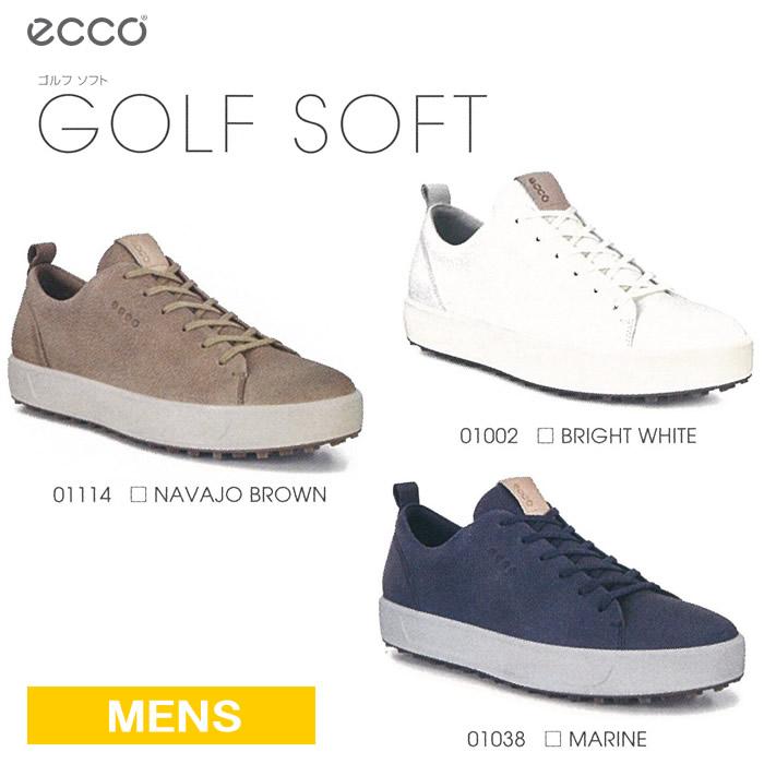 ●ECCO/エコー ゴルフシューズ【メンズ】GOLF SOFT/ゴルフソフト 151304