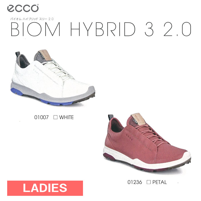●ECCO/エコー ゴルフシューズ【レディース】BIOM HYBRID 3 2.0/バイオム ハイブリッド スリー 2.0 125523