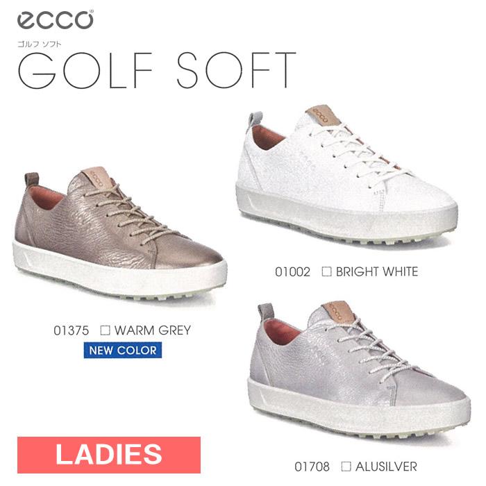 ●ECCO/エコー ゴルフシューズ【レディース】GOLF SOFT/ゴルフソフト 101103