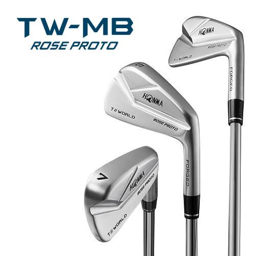 ●ホンマゴルフTOUR WORLD/ツアーワールドTW-MB ROSE PROTO スチール シャフト6本セット(#5~#10)