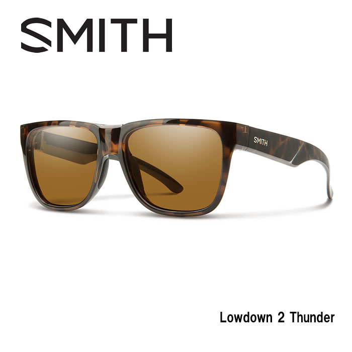 ●SMITH/スミス サングラスLowdown 2 Tortoise/Polar Brown