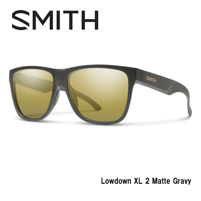 ●SMITH/スミス サングラスLowdown XL 2 Matte Gravy/Polar Gold Mirror