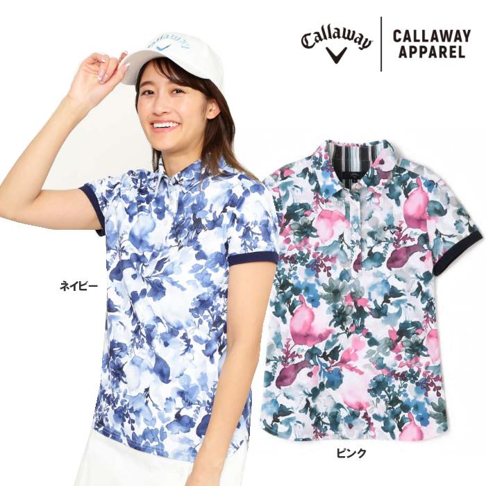 ●2020 S/S Callaway/キャロウェイ ウェア【レディース】半袖シャツ 241-0134808