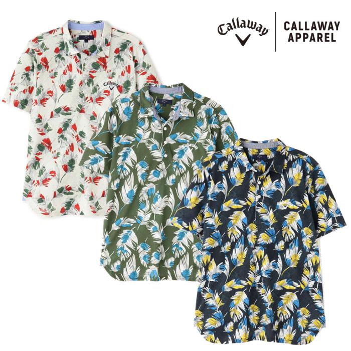 ●2020 S/S Callaway/キャロウェイ ウェア【メンズ】半袖シャツ 241-0134530