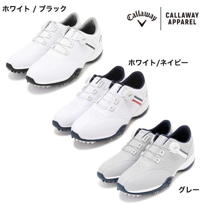 ●キャロウェイゴルフ ゴルフシューズ【メンズ】Callaway AEROSPORT BOA BBT-005AM 2470996501