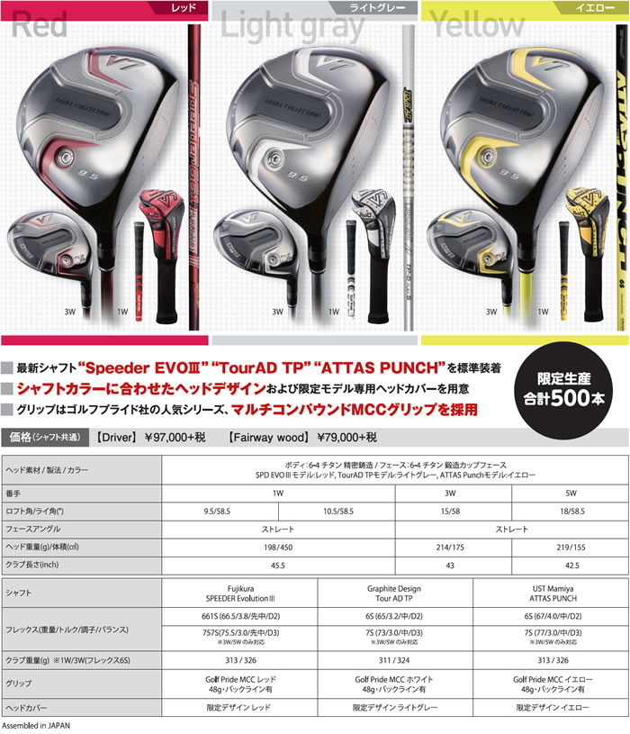 【限定生産モデル】ロイヤルコレクションBBD V7 Forged DriverBBD V7 フォージド ドライバーカスタムカラー・カスタムシャフト