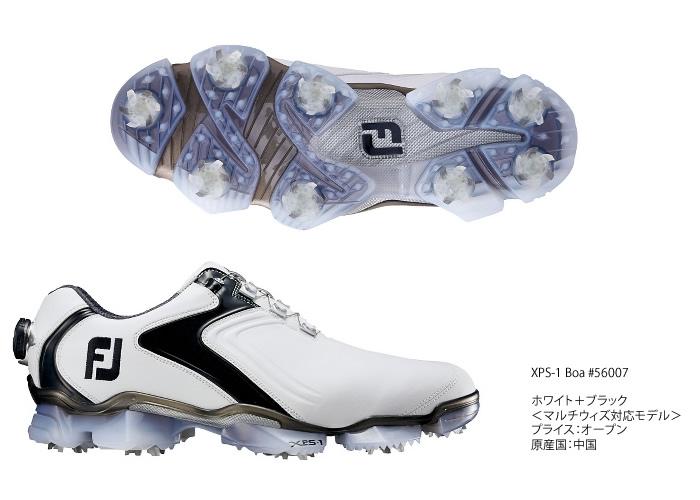 ●フットジョイ シューズ【メンズ】XPS-1 Boa/エックスピーエスワン Boa 56007