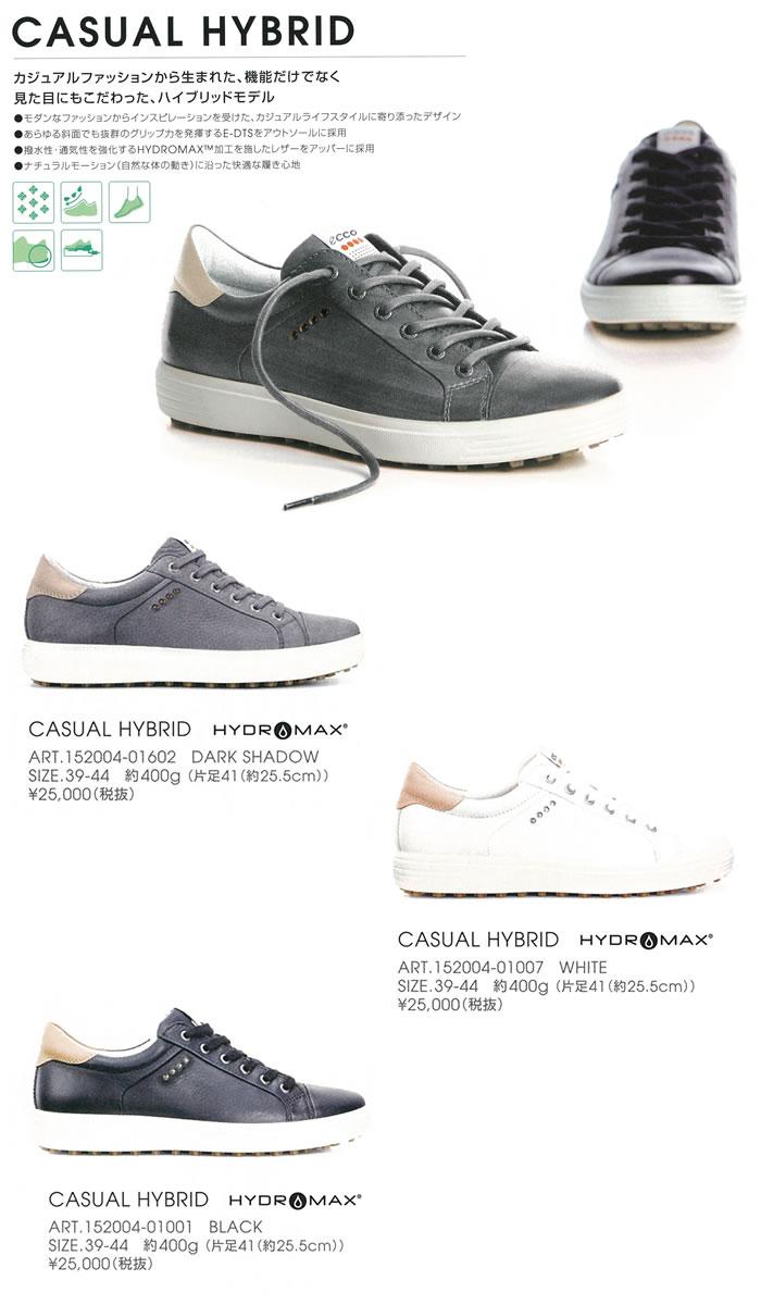 ●ECCO/エコー ゴルフシューズ【メンズ】CASUAL HYBRID 152004