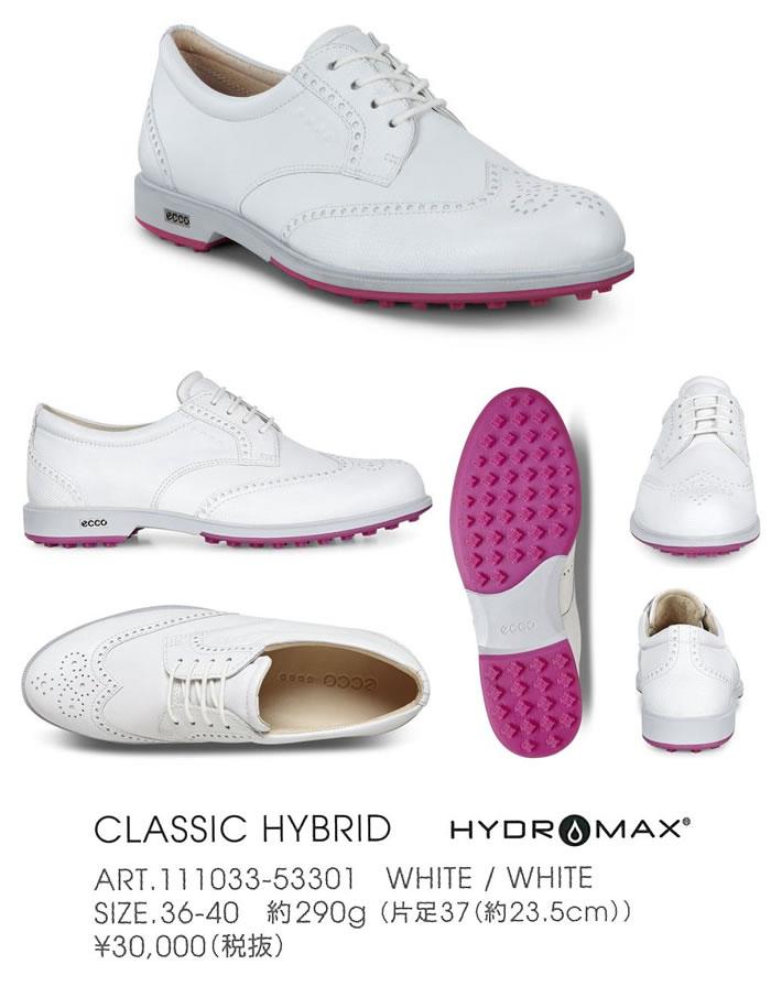 ●ECCO/エコー ゴルフシューズ【レディース】CLASSIC HYBRID 111033