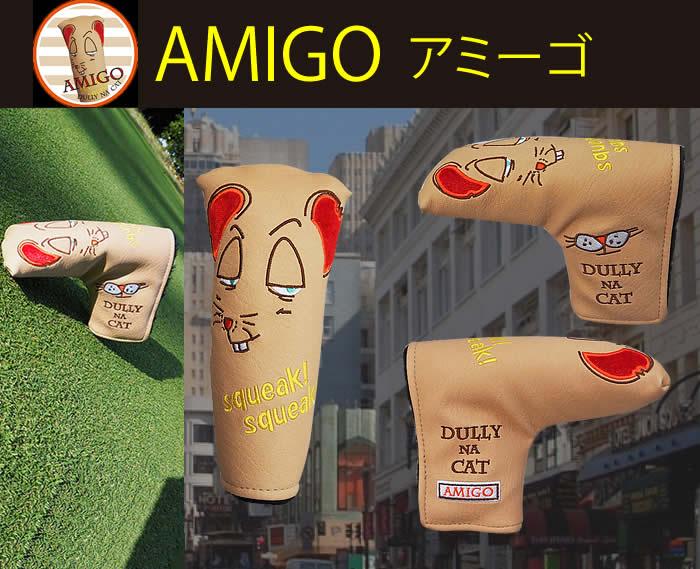 高品質新品 DULLY NA 舗 CAT パター用 キャットヘッドカバー ダリーナ
