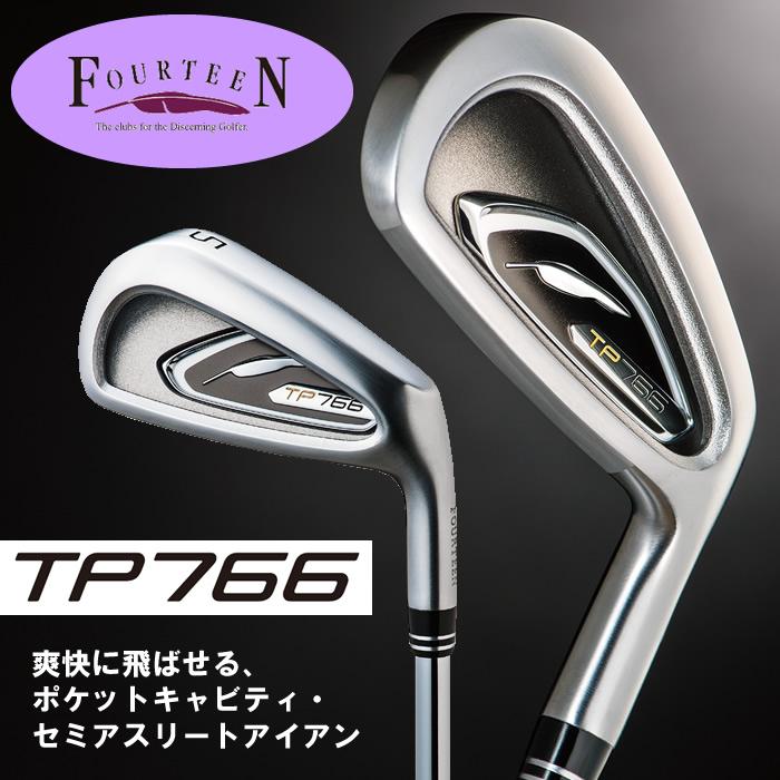●フォーティーン TP766 アイアンN.S.PRO 950GH HTスチールシャフト単品(#4)