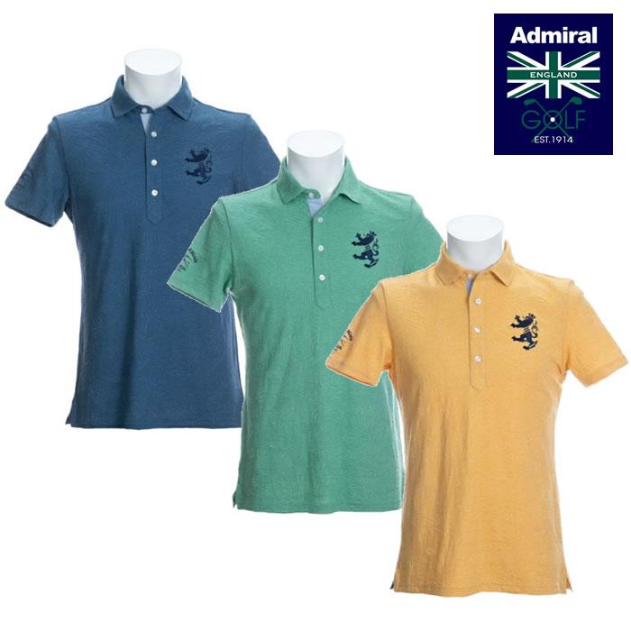 ●2020 春夏 Admiral/アドミラルウェア【メンズ】ボタニカルジャガード ワイドカラーシャツ ADMA053