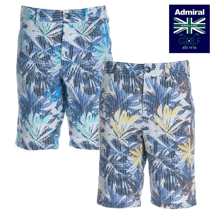 ●2020 春夏 Admiral/アドミラルウェア【メンズ】ボタニカルプリント ショートパンツ ADMA057