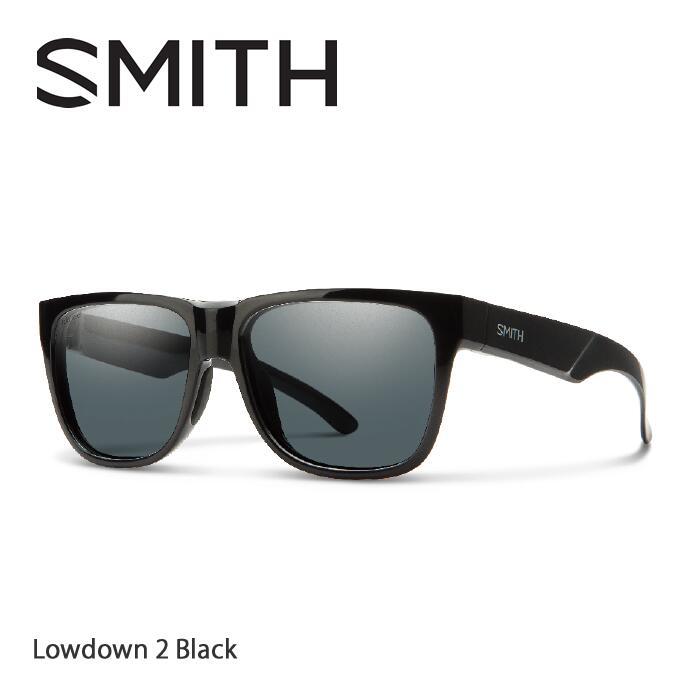 ●SMITH/スミス サングラスLowdown 2 Black/Polar Gray