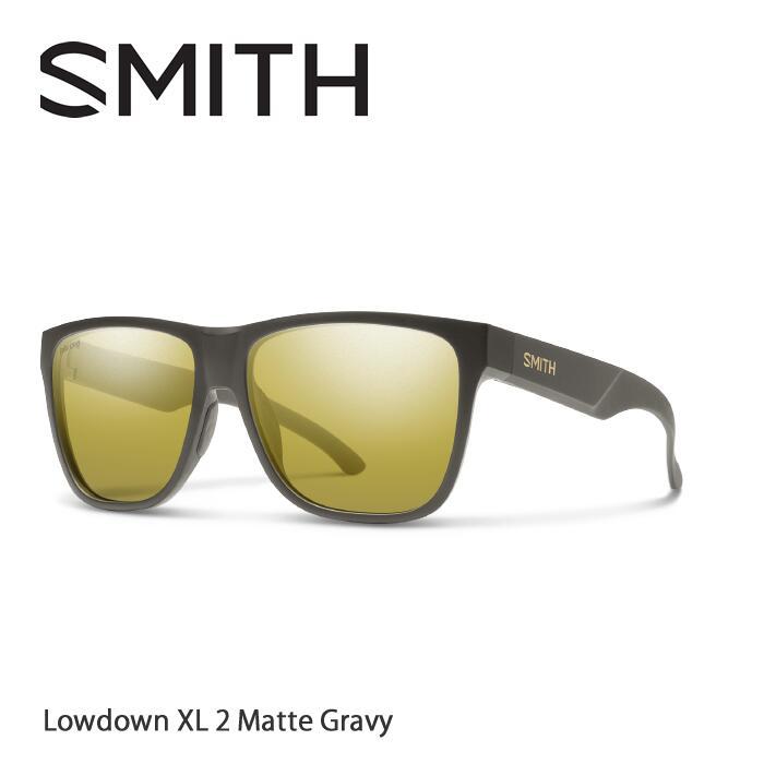 ●SMITH/スミス サングラスLowdown XL2 Matte Gravy/Polar Gold Mirror