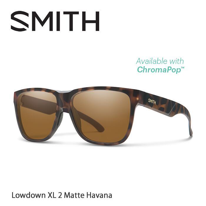 ●SMITH/スミス サングラスLowdown XL2 Matte Havana/Brown(ChromaPop Polarized)[偏光]