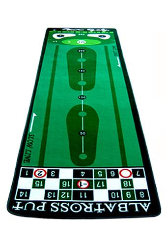 ●ミスターゴルフの高級パターマット シリーズアルバトロス(サイズ:90×300cm)