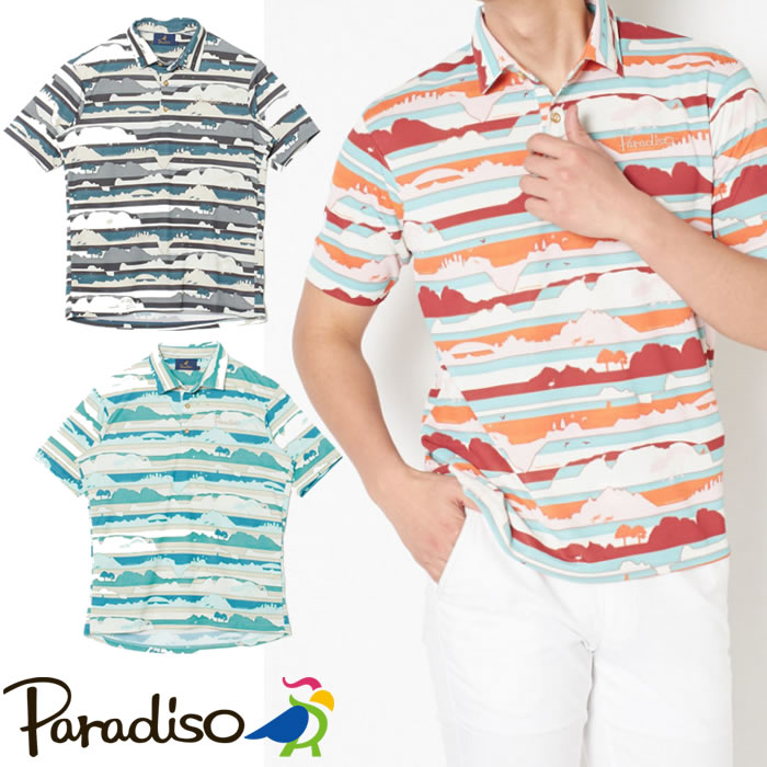 ●2020 S/S Paradiso パラディーゾウェア【メンズ】半袖シャツ 3SRN3A