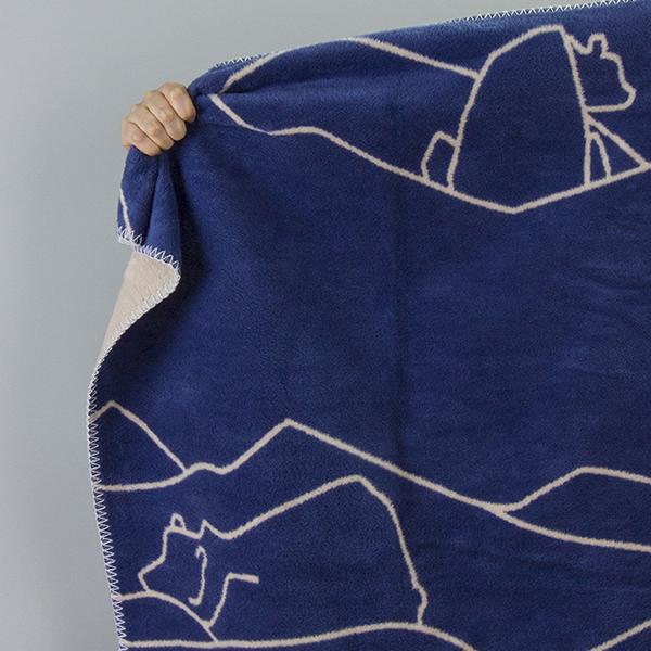 品質満点 fabulous goose (ファブラスグース)ICE BEARブランケット75x100 出産祝い インディゴ/サンド fabulous ひざ掛け/ ひざ掛け 北欧ブランケット 出産祝い, おきなわけん:9f43d103 --- bibliahebraica.com.br