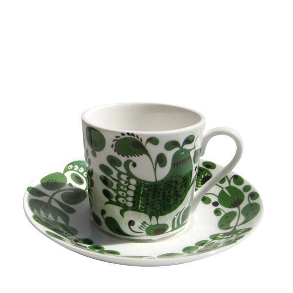 GUSTAFSBERG(グスタフスベリ) TURTUR(チュールチュール)コーヒーカップ&ソーサー / 北欧食器 復刻版 送料無料