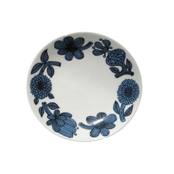 GUSTAFSBERG(グスタフスベリ) BLUE ASTER ブルーアスター プレート18cm / 北欧食器 復刻版