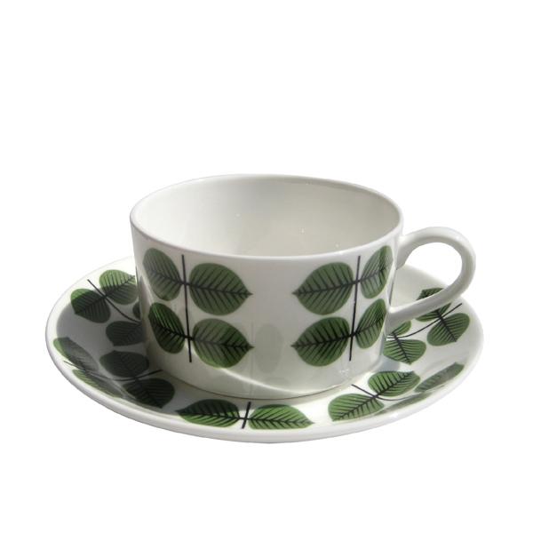 GUSTAFSBERG(グスタフスベリ) BERSA ベルサ コーヒーカップ&ソーサー/ 北欧食器 復刻版 送料無料