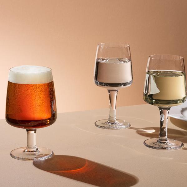 【KOSTA BODA】コスタ ボダ BRUK ワイングラス L 4Pセット  / 北欧デザイン シンプル ギフト 普段使い 万能グラス