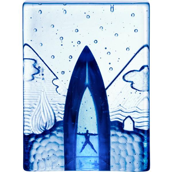 【KOSTA BODA】コスタ ボダ BLUES オブジェ FOUR ELEMENTS/ 北欧デザイン 飾り インテリア ギフト 結婚祝い 引越し祝い 新築祝い