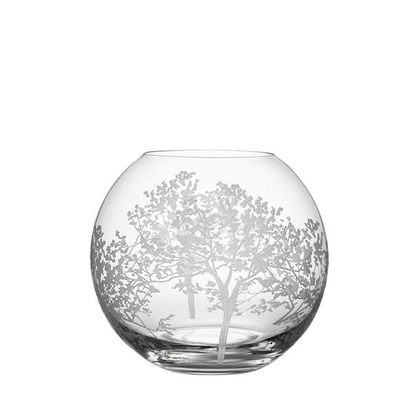 【Orrefors】オレフォス ORGANIC フラワーベース ラウンドS /花瓶 北欧デザイン シンプル ガラス ギフトプレゼント 丸型