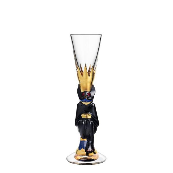 【Orrefors】オレフォス NOBEL スナップスグラス ブラック / ノーベル賞 ギフト 贈り物 記念品 送料無料