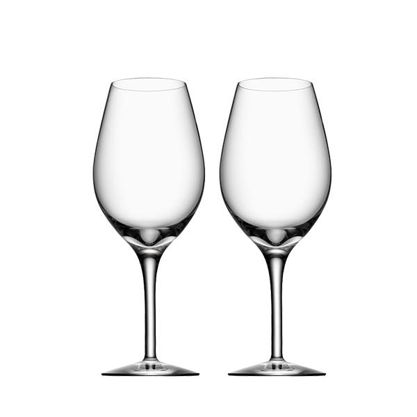 シンプルなワイングラス2Pセット 北欧 価格交渉OK送料無料 インテリア 雑貨 北欧食器 オープニング 大放出セール Orrefors オレフォス MORE 赤ワイングラス 王室御用達 白ワイングラス シンプルなグラス ワイングラス2Pセット おもてなし 普段使い