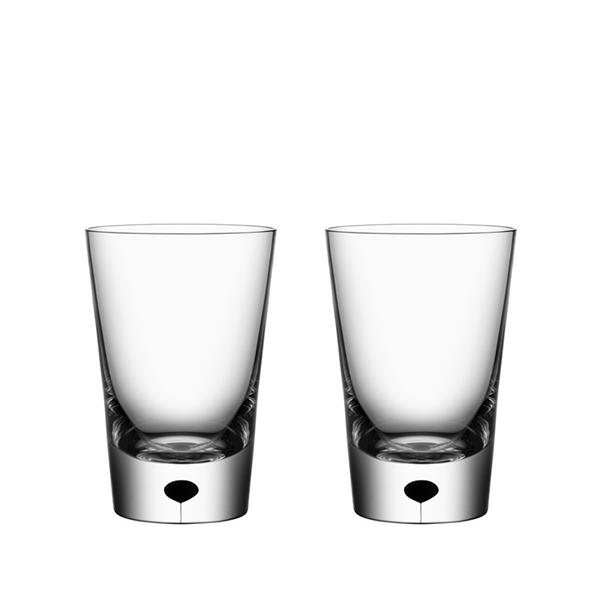 【Orrefors】オレフォス METROPOL タンブラー2Pセット/ グラス 北欧デザイン シンプル ギフト 上質 送料無料