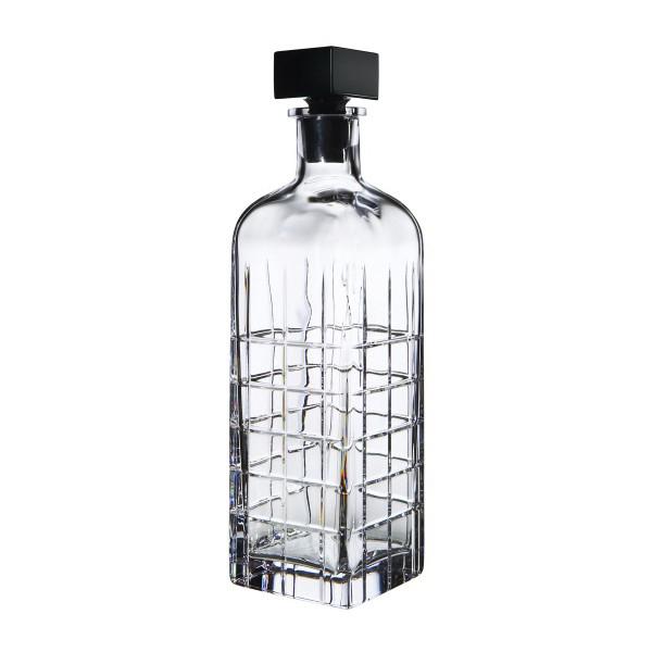 【Orrefors】オレフォス STREET デキャンター / ボトル 蓋つきビン バーアイテム ウイスキー ブランデー 送料無料