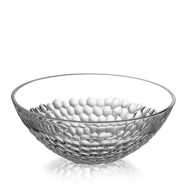 【Orrefors】オレフォス PEARL ボウル(L)サイズ/ 北欧食器 ガラス シンプル ギフト 普段使い